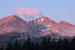 Longs Peak from the western flank of Twin Sisters, Rocky Mountain National Park, Colorado