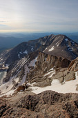 Mt. Meeker from the summit of Longs Peak, Rocky Mountain National Park, Colorado