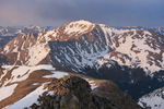 Mt. Yale from the summit of 14,071-foot Mt. Columbia, Collegiate Peaks Wilderness, Colorado