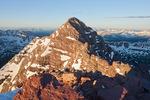 Maroon Peak from the summit of 14,014-foot North Maroon Peak, Maroon Bells-Snowmass Wilderness, Colorado