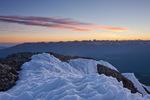 The Sneffels Range at sunrise from the summit of 14,017-foot Wilson Peak, San Miguel Mountains, Lizard Head Wilderness, Colorado