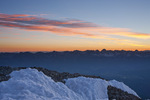 The Sneffels Range at sunrise from the summit of 14,017-foot Wilson Peak, San Miguel Mountains, Lizard Head Wilderness, Colorado