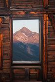Wilson Peak from Alta, a ghost town, San Juan Mountains, Colorado