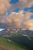 Mt. Wilson, Gladstone Peak, Wilson Peak and Lizard Head, Lizard Head Wilderness, San Juan Mountains, Colorado