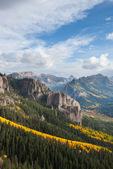 Uncompahgre Peak from overlook along Alpine Trail, Uncompahgre Wilderness, Colorado