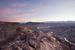 Rio Grande River from White Rock Overlook, near White Rock, New Mexico