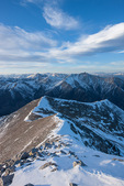 Mt. Princeton from the summit of 14,269-foot Mt. Antero, San Isabel National Forest, Colorado