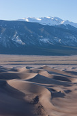 California Peak from Star Dune, Great Sand Dunes National Park, Colorado