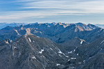 Looking north from the summit of 14,165-foot Kit Carson Peak, Sangre de Cristo Wilderness, Colorado