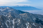 Looking south from the summit of 14,165-foot Kit Carson Peak, Sangre de Cristo Wilderness, Colorado