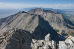 Looking north toward California Peak from the summit of 14,042-foot Ellingwood Peak, Sangre de Cristo Wilderness, Colorado