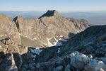 LIttle Bear Peak from the summit of 14,042-foot Ellingwood Peak, Sangre de Cristo Wilderness, Colorado