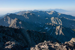 Looking south from the summit of 14,197-foot Crestone Needle, Sangre de Cristo Wilderness, Colorado