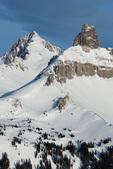 Gladstone Peak and Lizard Head, Lizard Head Wilderness, San Juan  Mountains, Uncompahgre National Forest, Colorado