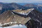 Browns Peak and Mt. Hope from the summit of Huron Peak, Collegiate Peaks Wilderness, Colorado