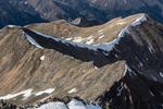 Browns Peak from the summit of Huron Peak, Collegiate Peaks Wilderness, Colorado