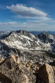 Ice Mountain, the highest peak in the Three Apostles, from the summit of Huron Peak, Collegiate Peaks Wilderness, Colorado