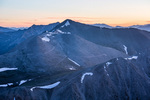 Mt. Antero at sunrise from the summit of Tabeguache Peak, San Isabel National Forest, Colorado