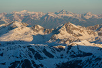 Snowmass Mountain and Capitol Peak from the summit of Mt. Massive, Mt. Massive Wilderness, Colorado