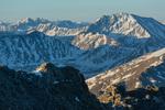 La Plata Peak from the summit of Mt. Massive, Mt. Massive Wilderness, Colorado