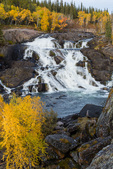 Cameron Falls, along the Ingraham Trail near Yellowknife, Northwest Territory, Canada