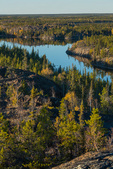 Unnamed lake from Ranney Hill, along the Ingraham Trail near Yellowknife, Northwest Territory, Canada