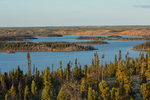 Prelude Lake from the Prelude Lake Nature Trail, Prelude Lake Territorial Park, along the Ingraham Trail, near Yellowknife, Northwest Territories, Canada