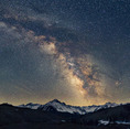 Milky Way over Mt. Sneffels, Mount Sneffels Wilderness, Colorado