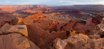 Panorama from Dead Horse Point, Dead Horse Point State Park, Utah