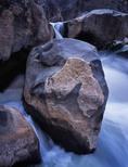 Cascade along the Gunnison River below SOB Gully, Black Canyon of the Gunnison National Park, Colorado