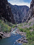 The Gunnison River below SOB Gully, Black Canyon of the Gunnison National Park, Colorado
