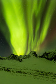 Aurora over the Tombstone Range, Tombstone Territorial Park, Yukon Territory, Canada