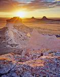 Pawnee Buttes at sunrise, Pawnee National Grassland, Colorado