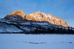 Sukakpak Mountain at sunset, Brooks Range, near Wiseman, Alaska