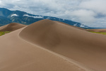 Small dunes at the base of the dune field, Great Sand Dunes National Park, Colorado