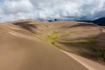 Gathering storm over the Sangre de Cristo Range, Great Sand Dunes National Park, Colorado