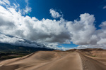 Gathering clouds over the Blanca massif, Great Sand Dunes National Park, Colorado