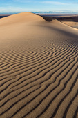 Wind-rippled sand atop High Dune, Great Sand Dunes National Park, Colorado
