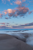 Sunrise from the summit of High Dune, Great Sand Dunes National Park, Colorado