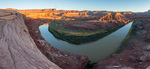 Turks Head and the Green River at sunset, Canyonlands National Park, Utah