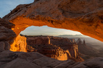 Mesa Arch at sunrise, Canyonlands National Park, Utah