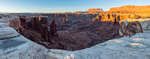 Monument Basin, Junction Butte, and Grand View Point at sunrise, Canyonlands National Park, Utah