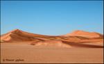 Namib Desert Red Sand Dunes.