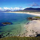 Beach at Seilebost, Isle of Harris.