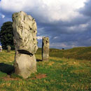 Three stones from the Avebury Stone Circle