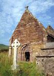 Romanesque church ruins at Kilmalkedar