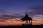 Park pavilion at Ocean Park, Oak Bluffs, Martha's Vineyard, MA
