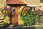 Doorway in Broad Campden, Cotswolds