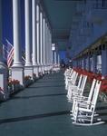 Porch at the Grand Hotel, Mackinaw Island