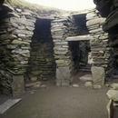 Wheel House stone dwelling at Jarlshof
